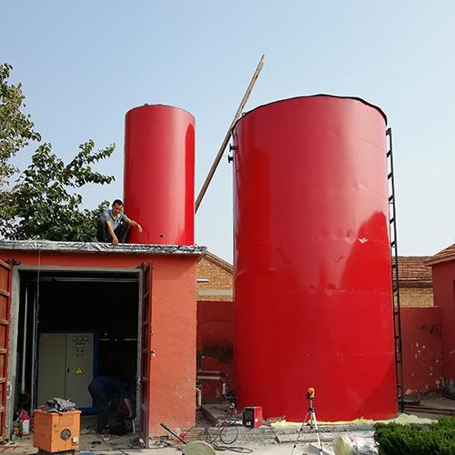 蓄热型电热水锅炉现场安装